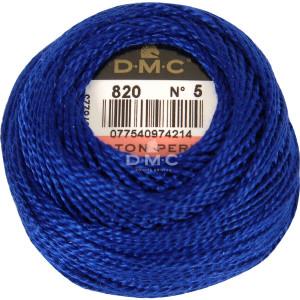 DMC Perlgarn Knäuel Stärke 5, 10 g, 116A/5-820