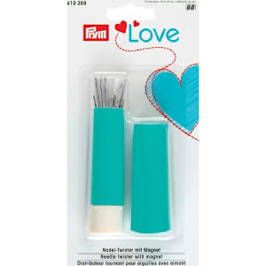 Prym Love Needle twister with 19 sewing and darning needles