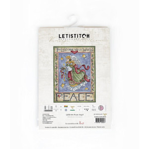 """Letistitch counted cross stitch kit """"Peace..."""