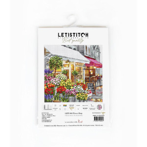 """Letistitch counted cross stitch kit """"Flower..."""