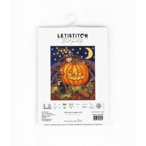 "Letistitch counted cross stitch kit ""Pumpkin..."