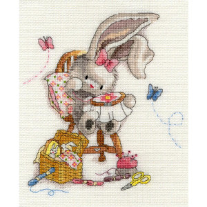 """Bothy Threads counted cross stitch Kit """"Sewn With..."""