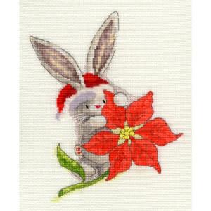 """Bothy Threads Kreuzstich-Set """"Weihnachtsstern"""",..."""