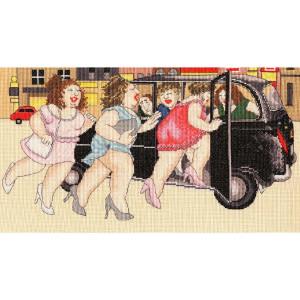 "Bothy Threads Kreuzstich-Set ""Taxi!"", 40x22cm,..."