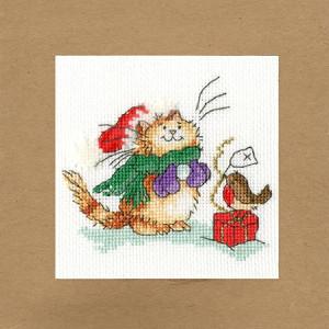 """Bothy Threads Grußkarte Kreuzstich-Set """"Nur..."""