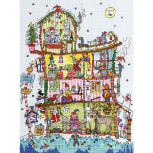 """Bothy Threads counted cross stitch Kit """"North Pole..."""