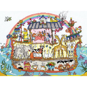 """Bothy Threads counted cross stitch Kit """"Noah's..."""