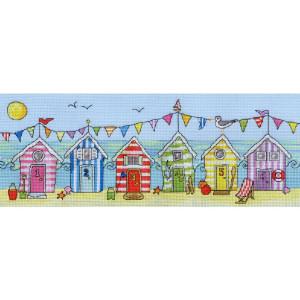 "Bothy Threads counted cross stitch Kit ""Beach Hut..."