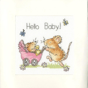 Bothy Threads greating card counted cross stitch Kit...