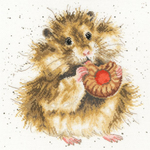 """Bothy Threads counted cross stitch Kit """"The Diet..."""