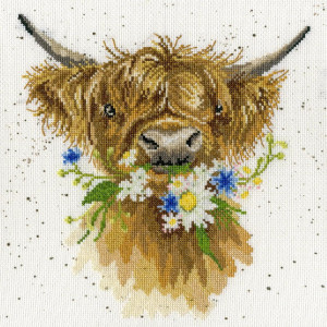 """Bothy Threads counted cross stitch Kit """"Daisy..."""