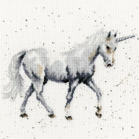 "Bothy Threads Kreuzstich-Set ""Glaube an Magie"", 26x26cm, XHD46, Zählmuster"