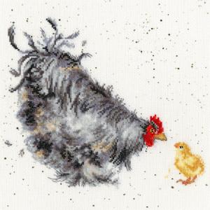 """Bothy Threads Kreuzstich-Set """"Mutter Henne"""",..."""