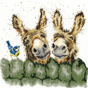 """Bothy Threads counted cross stitch Kit """"Hee..."""