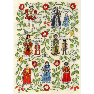 """Bothy Threads counted cross stitch Kit """"Henry..."""