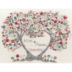 """Bothy Threads counted cross stitch Kit """"Love..."""