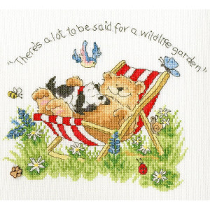 """Bothy Threads counted cross stitch Kit """"Wildlife..."""