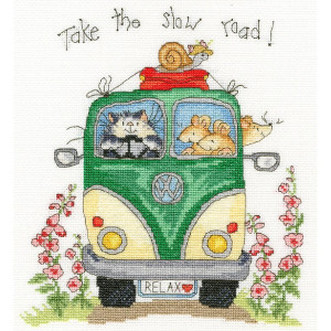 """Bothy Threads counted cross stitch Kit """"Take The..."""