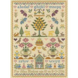 """Bothy Threads counted cross stitch Kit """"The Birthday..."""