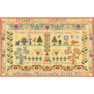 """Bothy Threads counted cross stitch Kit """"Season and..."""