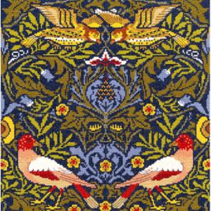 """Bothy Threads Kreuzstich-Set """"Vogel"""", 31x31cm,..."""