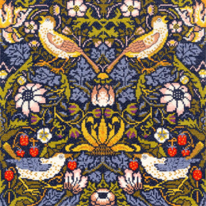 """Bothy Threads counted cross stitch Kit """"Strawberry..."""