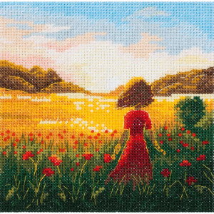 """Panna counted cross stitch kit """"The last summer..."""