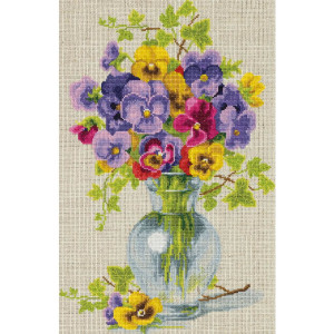 """Panna counted cross stitch kit """"Bunch of..."""