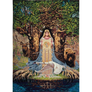 """Panna counted cross stitch kit """"Veda Protective..."""