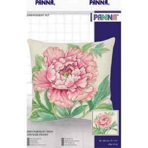 "Panna counted cross stitch cushion kit ""Vintage..."