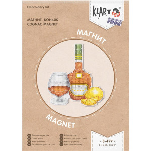 "Klart counted cross stitch kit ""Magnet...."