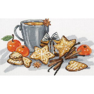 """Panna counted cross stitch kit """"Gingerbread..."""