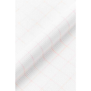 DMC Magic Guide AIDA 14 ct. white squared, washable,...