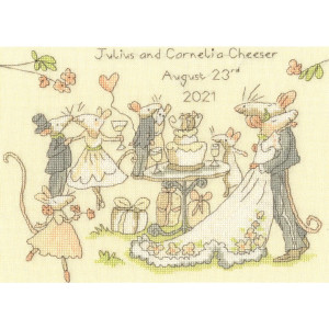 """Bothy Threads counted cross stitch kit """"Mice day a..."""