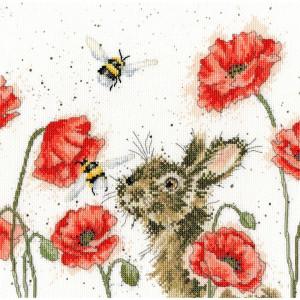 "Bothy Threads Kreuzstich Set ""Let it Bee"",..."