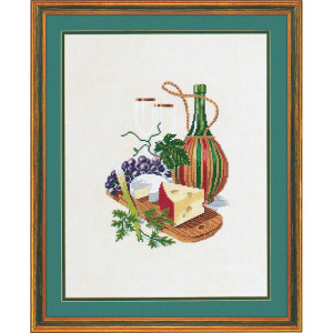 """Eva Rosenstand counted cross stitch kit """"Cheese with..."""