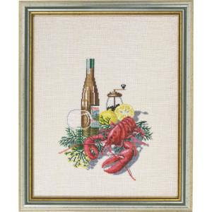 "Eva Rosenstand counted cross stitch kit ""Wine and..."