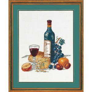 """Eva Rosenstand counted cross stitch kit """"Cheese and..."""
