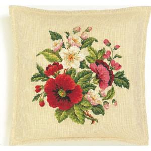 Eva Rosenstand cushion counted cross stitch kit...