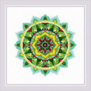 "Riolis Kreuzstich Set ""Selbsterkenntnis-Mandala..."