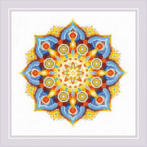 "Riolis Kreuzstich Set ""Energie Mandala "",..."