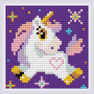 "Riolis diamond mosaic kit ""Little Unicorn"",..."