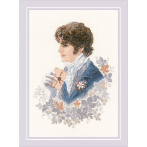 """Riolis counted cross stitch kit """"The Confession..."""