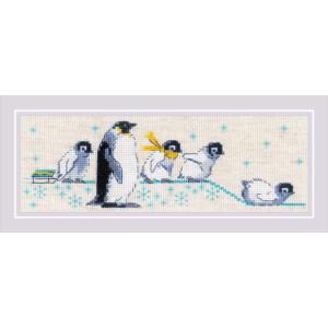 """Riolis Kreuzstich Set """"Pinguine"""",..."""