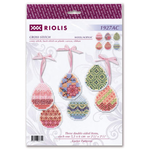 """Riolis counted cross stitch kit """"Easter Pattern Set..."""