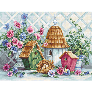 """Luca-S counted cross stitch kit """"Garden..."""