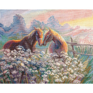 """Oven counted cross stitch kit """"Evening dreams"""",..."""
