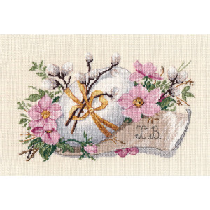 """Oven counted cross stitch kit """"Easter Sunday"""",..."""