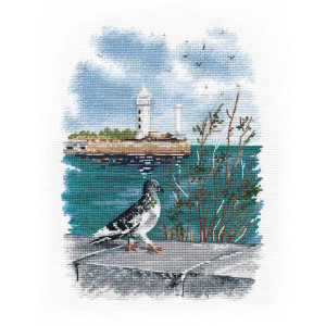 """Oven counted cross stitch kit """"On the..."""