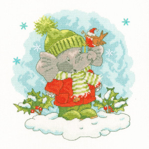 """Bothy Threads counted cross stitch kit """"Ellys Snow..."""